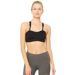 Alo Yoga | Size XS. Black Facet Sports Bra